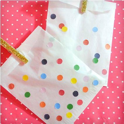 Confetti Favor Bags