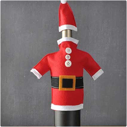 DIY-Wine-Bottle-Santa