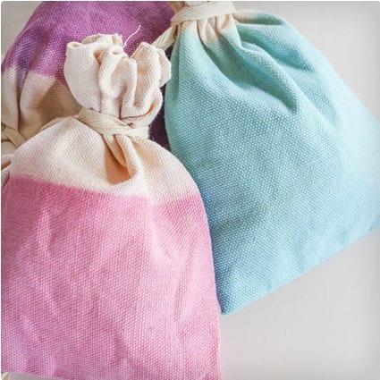Dip-Dye Favor Bags