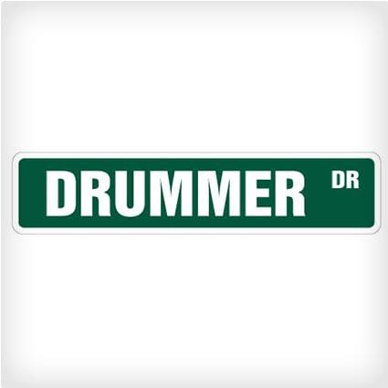Drummer Street Sign