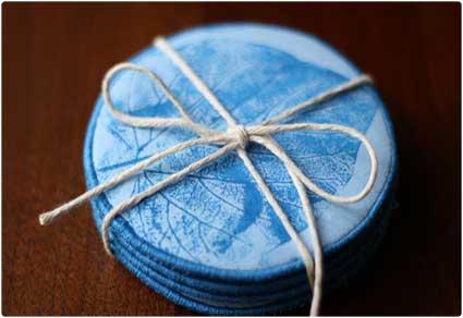 Fabric-Coasters