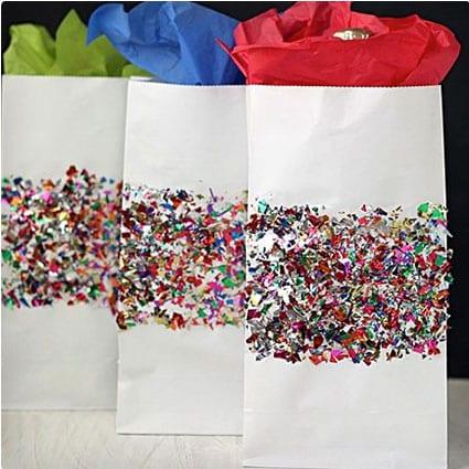 Glitter Confetti Bags
