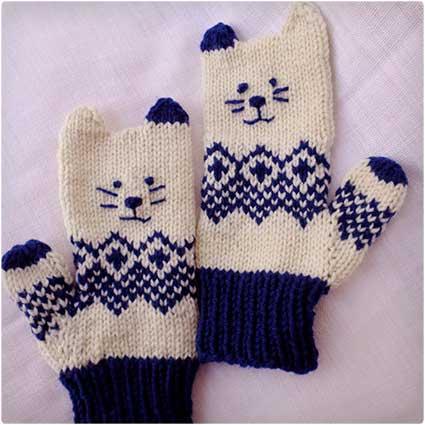 Kitten-Mittens