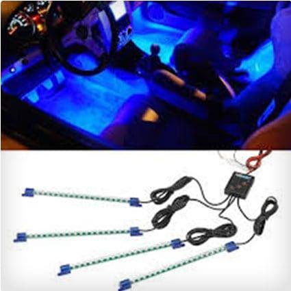 LED Interior Underdash Lighting Kit