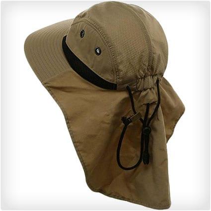 Large Bill Flap Hat