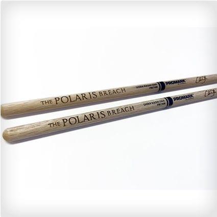 Laser Engraved Oak Drum Sticks