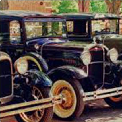 Model A Fords Fine Art Print