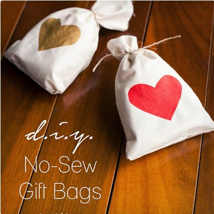 No-Sew Gift Bags