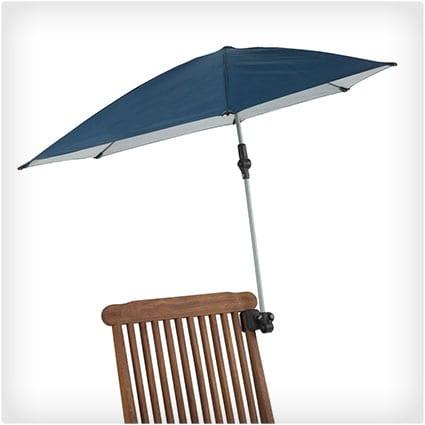 Portable Clamp-On Sun Umbrella