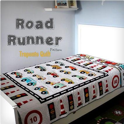 Road Runner Trapunto Quilt Pattern