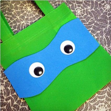 Teenage Mutant Ninja Turtle Treat Bags
