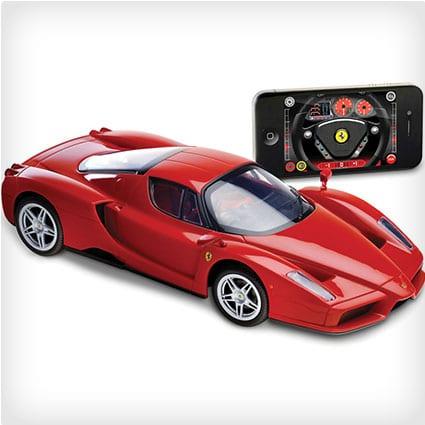 The iPhone Remote Controlled Enzo Ferrari