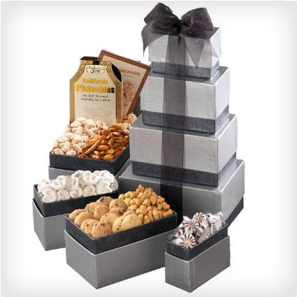 Thinking of You Gourmet Gift Tower