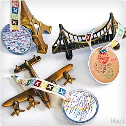 Travel-Map-Ornaments