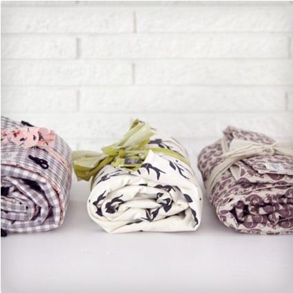 Yarn Tied Baby Blanket