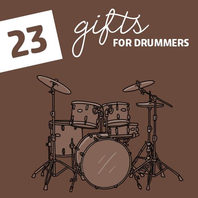 23 Incredible Gifts For Drummers Dodo Burd