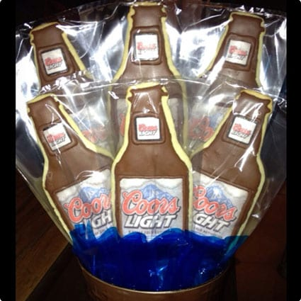 Beer Cookie Bouquet
