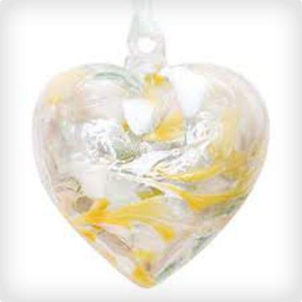 Birthstone Hanging Hearts