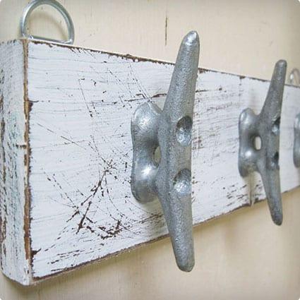 Boat Cleat Key Rack