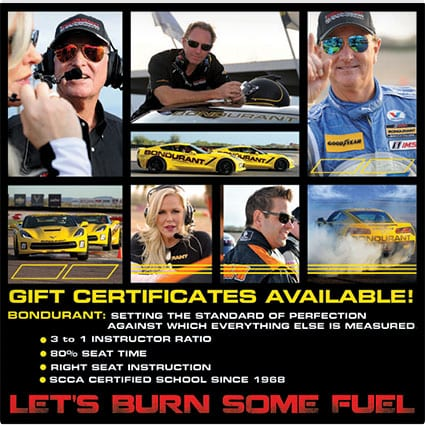 Bondurant School of High Performance Driving