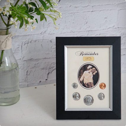 Coin Picture Frame