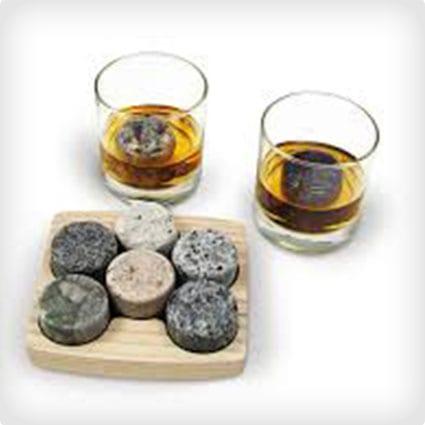 Granite Whiskey Stone Gift Set