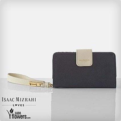 Isaac Mizrahi Leather Wallet