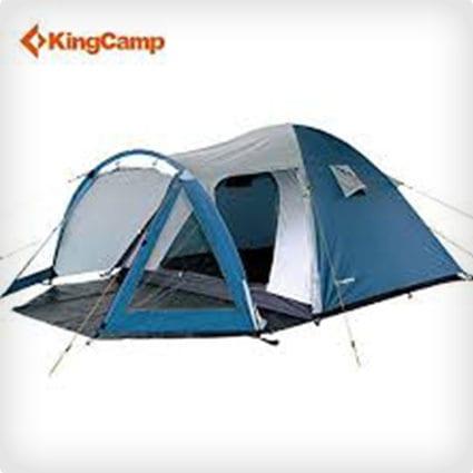 KingCamp Weekend Waterproof Durable Tear, Resistant 3-Person Tent