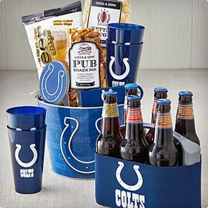NFL Licensed Tailgate Snacks with Beer Cooler