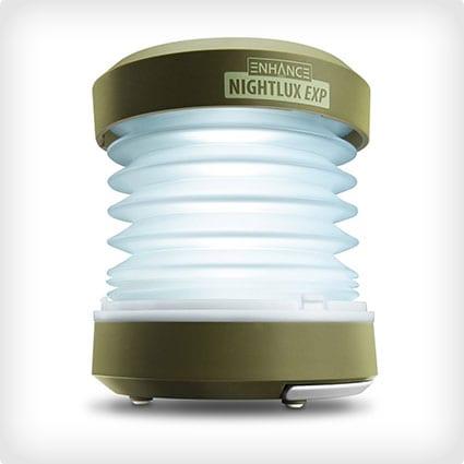 NIGHTLUX EXP Portable Hand Crank Lantern and LED Flashlight