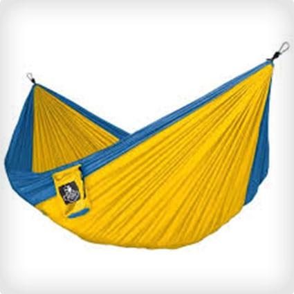 Neolite Trek Camping Hammock - Lightweight Portable Nylon Parachute Hammock