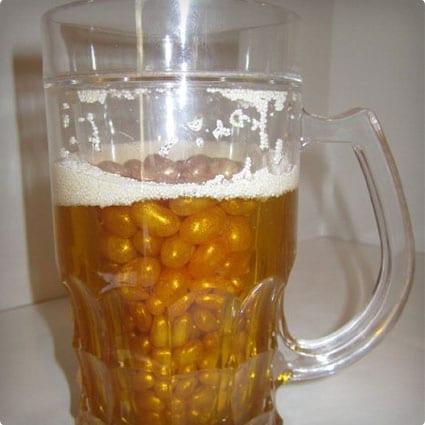 Novelty Beer Candy Gift Basket