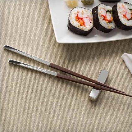 Personalized Chopstick Three-Piece Set