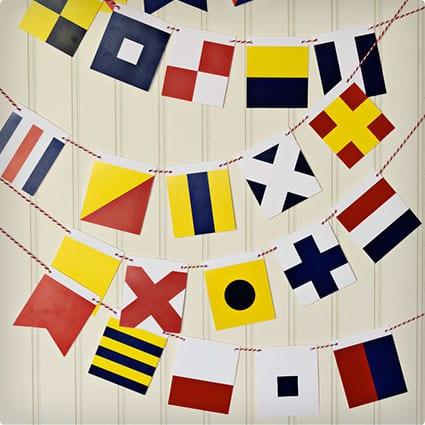 Printable Maritime Flags