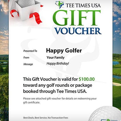 TeeTimes USA Golf Vacation Packages