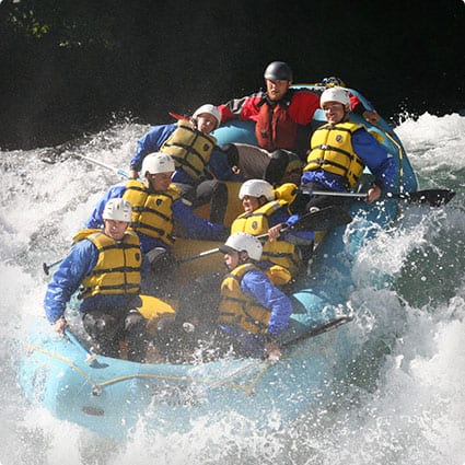 Whitewater Rafting Adventure Vacation