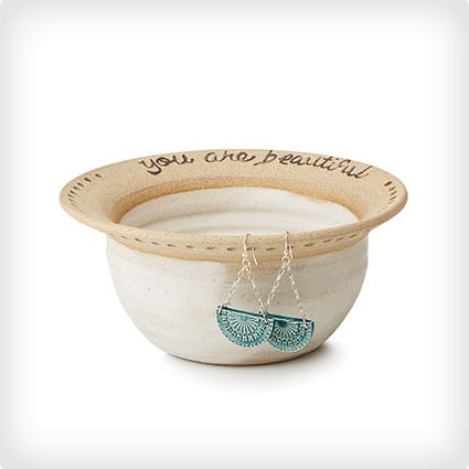 You are Beautiful Earring Bowl