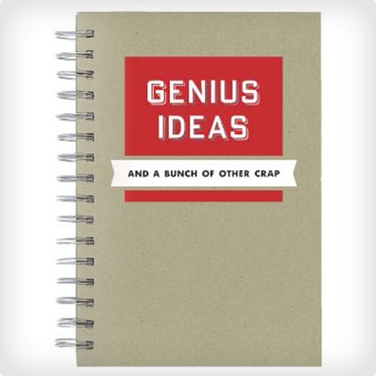 C.R. Gibson Genius Ideas Spiral Journal