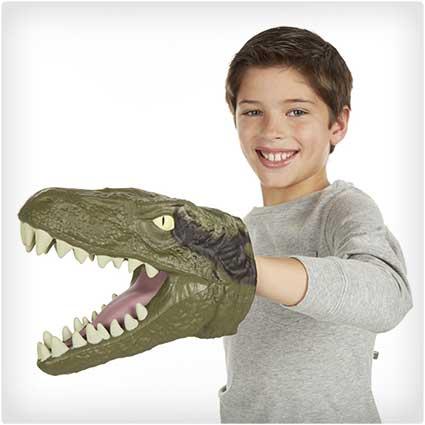 Jurassic-Park-Chomping-Raptor-Head