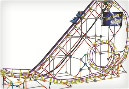 K'NEX Amazin' 8 Coaster Building Set