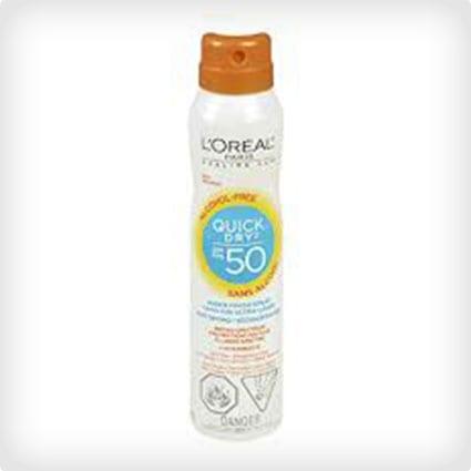 L'Oreal Paris Advanced Suncare Quick Dry Sheer Finish Spray