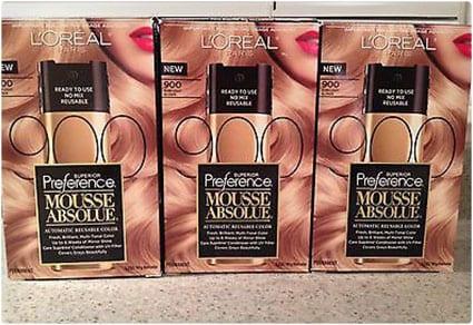 L'Oreal Paris Hair Color Mousse, Blond