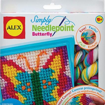 Needlepoint Butterfly Kit