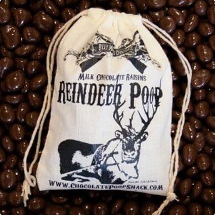 Chocolate Reindeer Poop