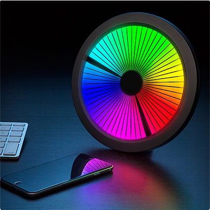 Chromatic Spectrum Clock