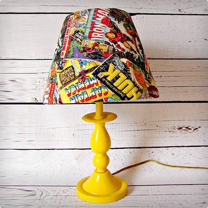 Comic Book Lamp