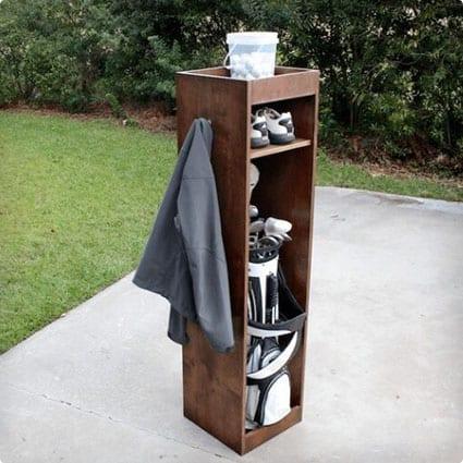 DIY Golf Locker