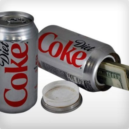 Diet Coke Can Stash
