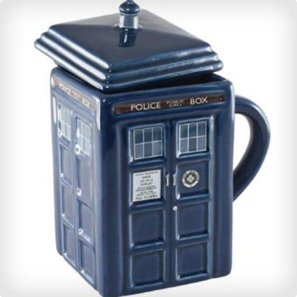 Dr. Who Tardis Mug