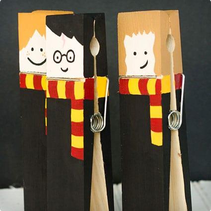 Harry Potter XL Clothespins